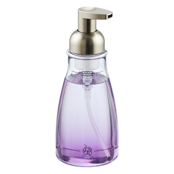 14 Oz Brushed Nickel Foaming Soap Pump The Container Store