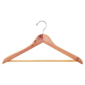 Premium Cedar Hanger with Trouser Bar