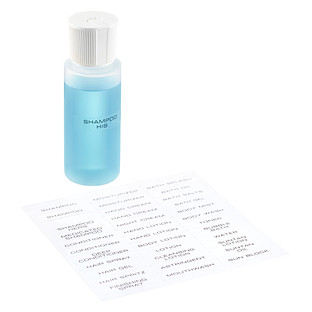 Personal Care Adhesive Labels   The Container Store