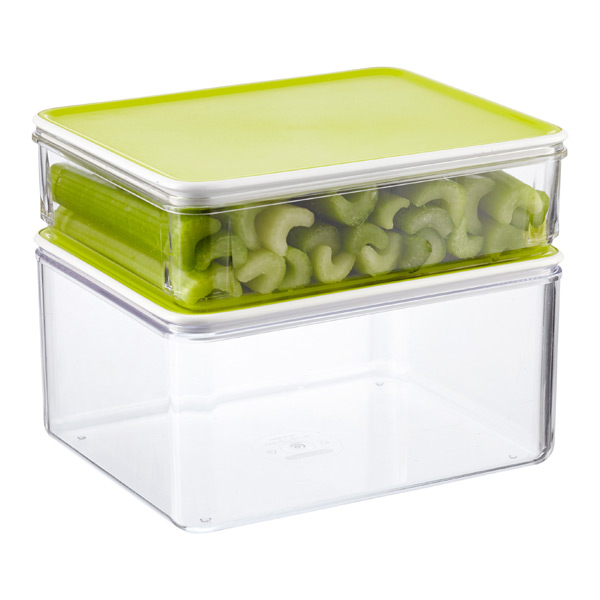 Modulbox Food Storage with Lime Lids ...  sc 1 st  The Container Store & Modulbox Food Storage with Lime Lids | The Container Store
