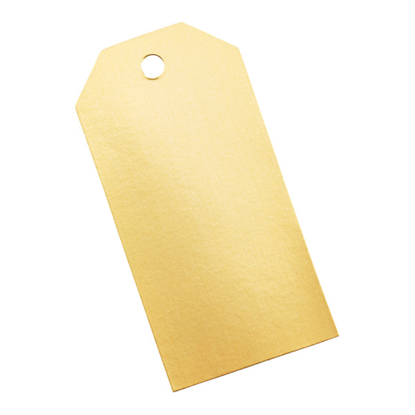 gold foil tag it gift tags