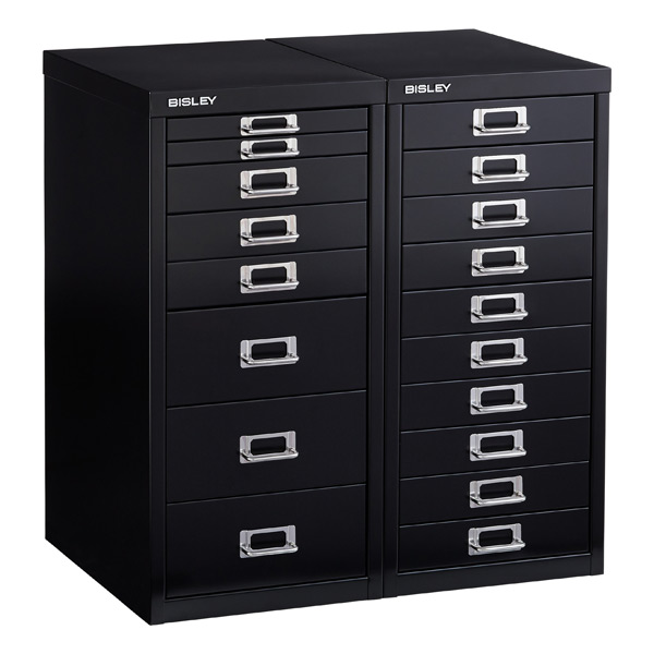 Black Bisley Collection Cabinets ...