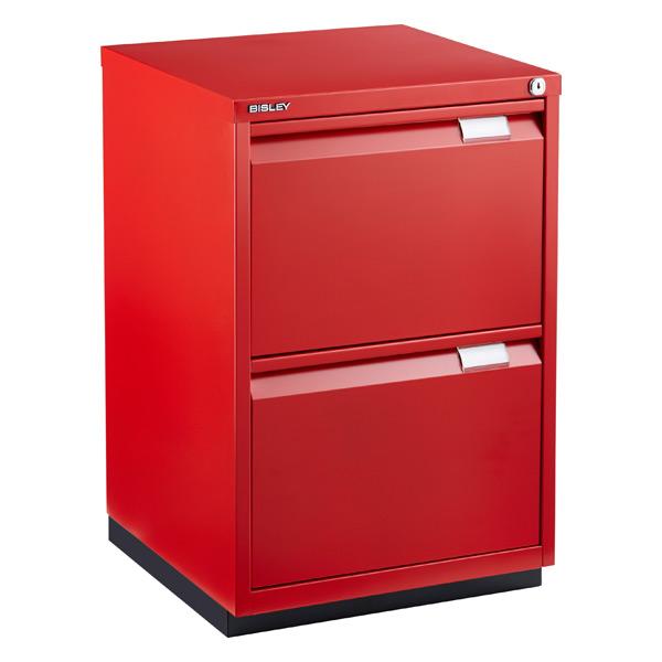 Red Bisley Premium File Cabinet ...