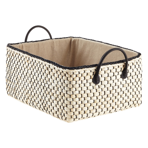 Roll over to zoom  sc 1 st  The Container Store & Loft Woven Storage Bins with Handles | The Container Store