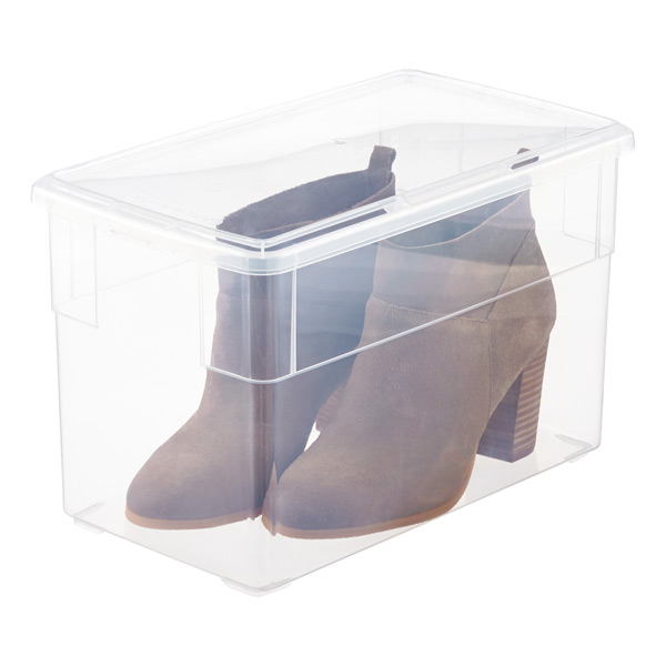 Container Store Tall Shoe Box