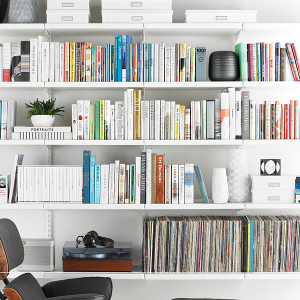 white bookshelves - White Bookshelves
