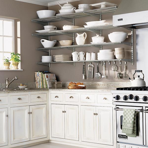 Charmant Platinum Kitchen Shelves ...