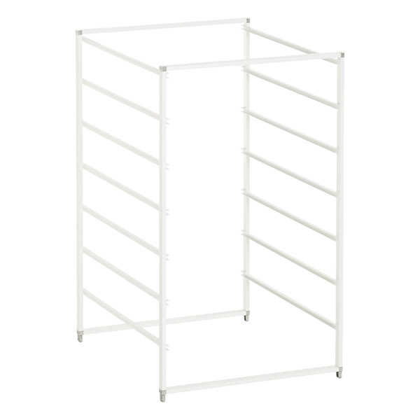 White elfa  Drawer Frames