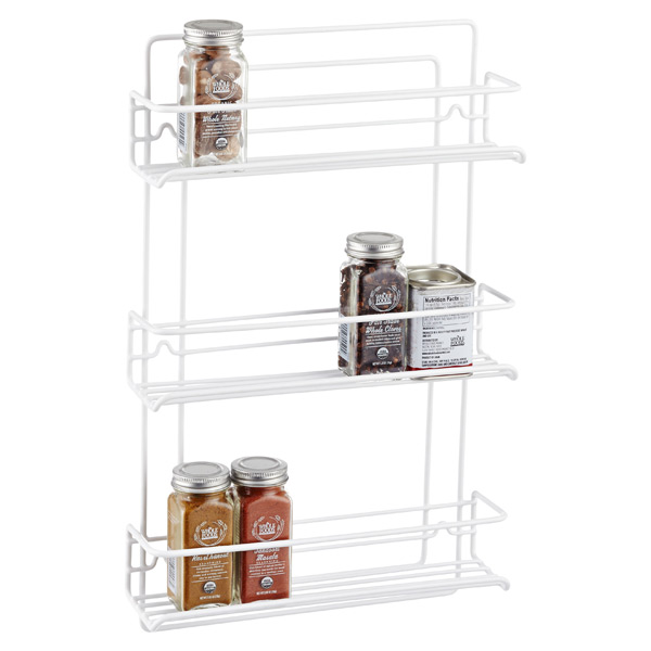 3-Shelf Wire Spice Rack | The Container Store
