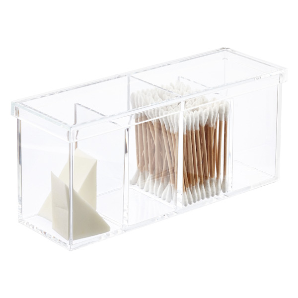 Acrylic 4 Section Box The Container Store