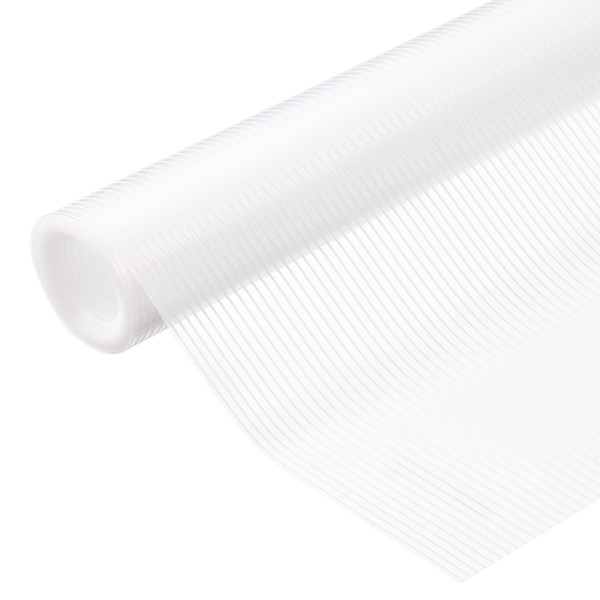Clear Plast-O-Mat Ribbed Shelf Liner | The Container Store