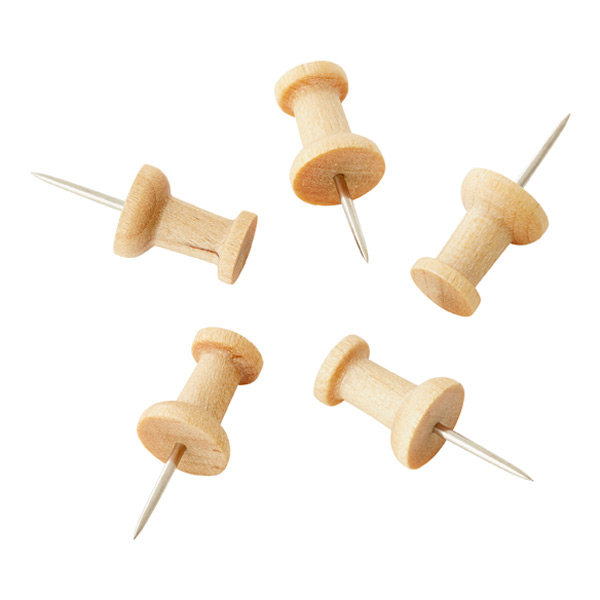 Oak Pushpins