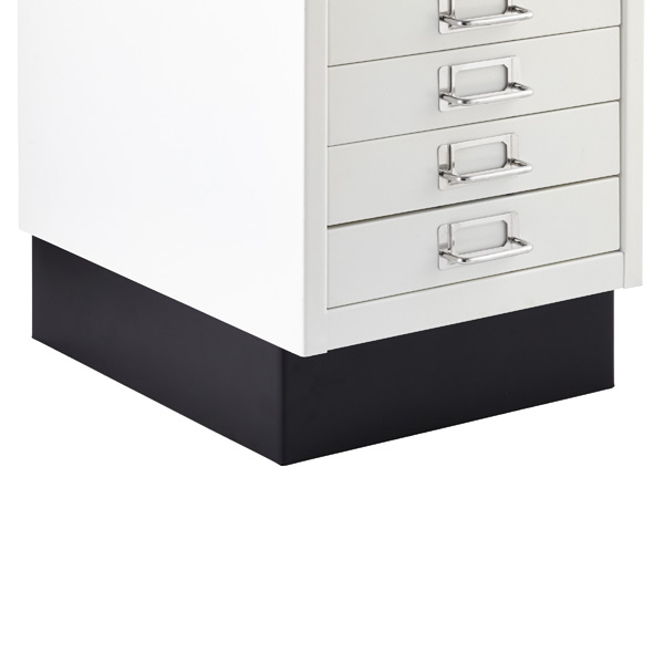 Bisley White 8  U0026 10 Drawer Collection Cabinets