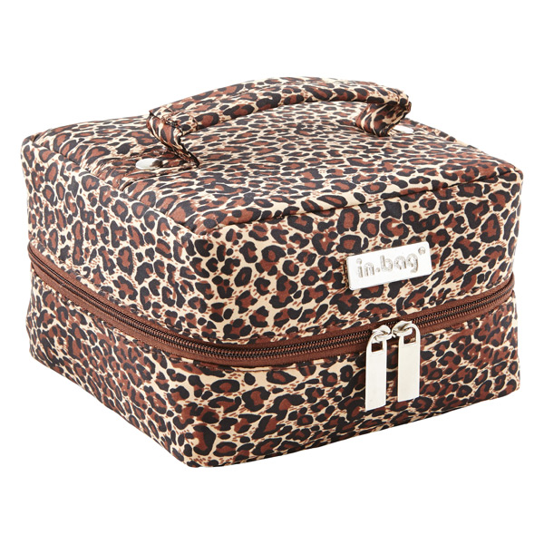 Large in.bag Leopard Jewelry Organizer & in.bag Earring ...
