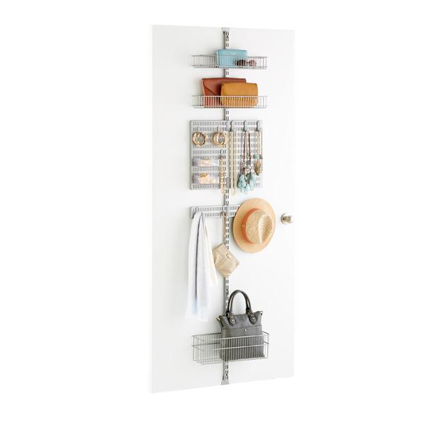 Platinum Elfa Utility Closet Door Wall Rack Solution The