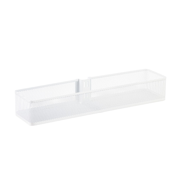 Elfa Utility White Mesh Pantry Door Wall Rack: White Elfa Utility Mesh Door & Wall Rack System Components