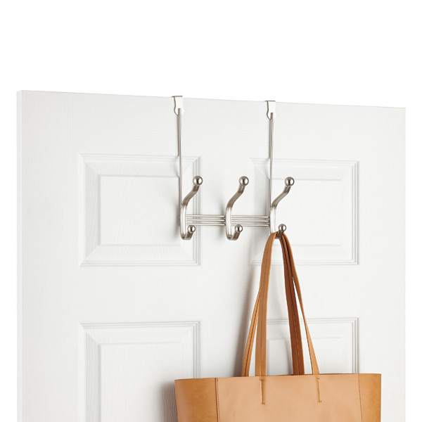 York Overdoor Coat & Hat Rack