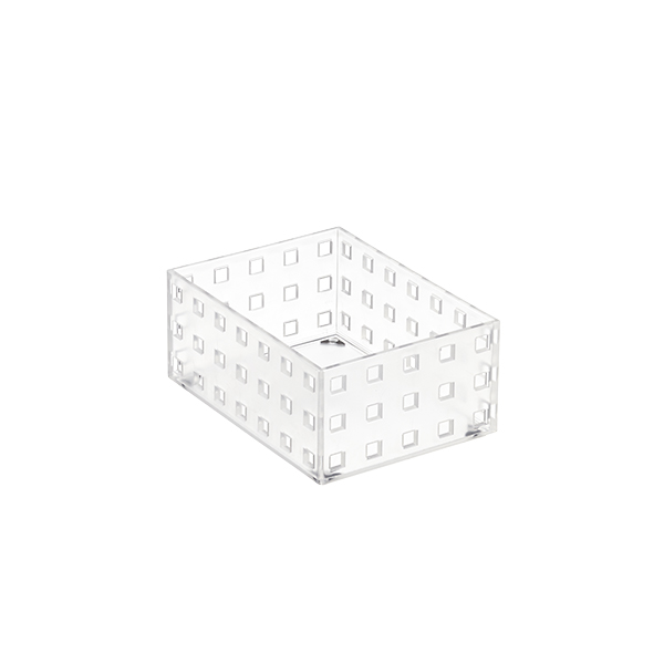 "Like-it® Bricks 4"" Medium Short Bin"