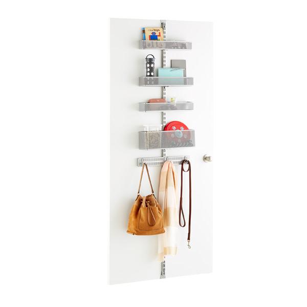 Platinum Elfa Utility Mesh Door Amp Wall Rack System