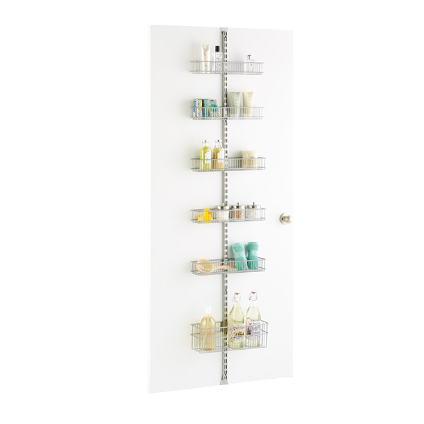 Platinum elfa utility Door u0026 Wall Rack System  sc 1 st  The Container Store & Platinum elfa utility Door u0026 Wall Rack System Components | The ...
