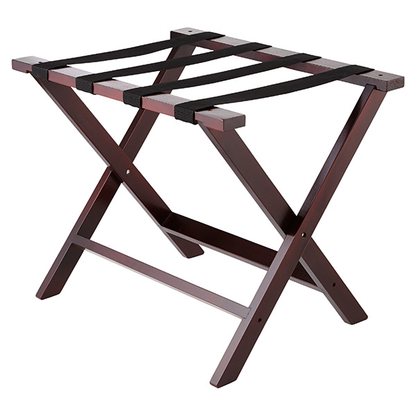 Solid Wood Luggage Rack | The Container Store