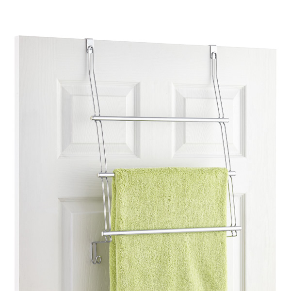 classico over the door towel rack the container store. Black Bedroom Furniture Sets. Home Design Ideas