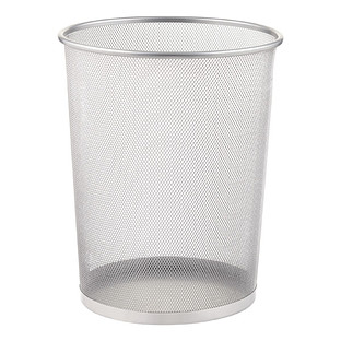 This Review Is Fromsilver Mesh Trash Can