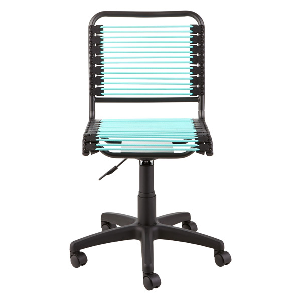 Turquoise Bungee Office Chair