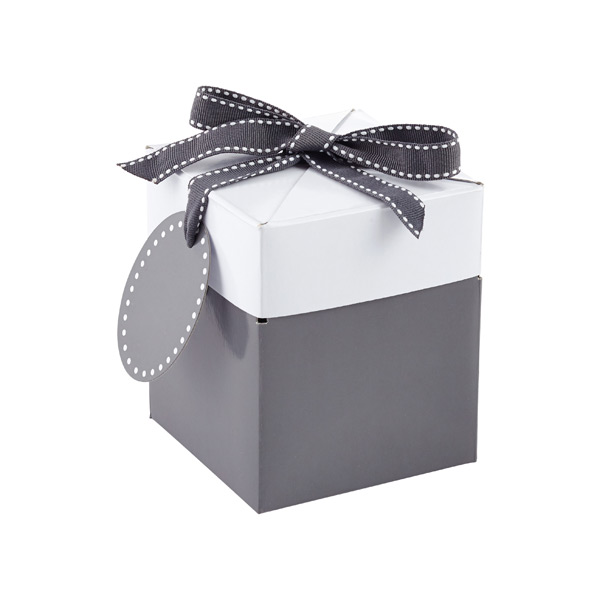 Grey Pop Up Gift Boxes