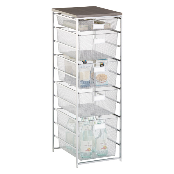 organizers sized organizing drawers mesh drawer pantry tips elfa kitchen personal cabinet