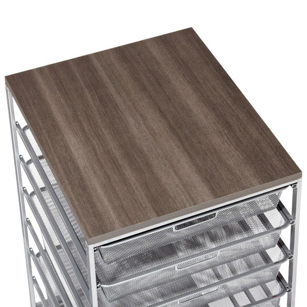 Driftwood Cabinet Sized Elfa Melamine Tops ...
