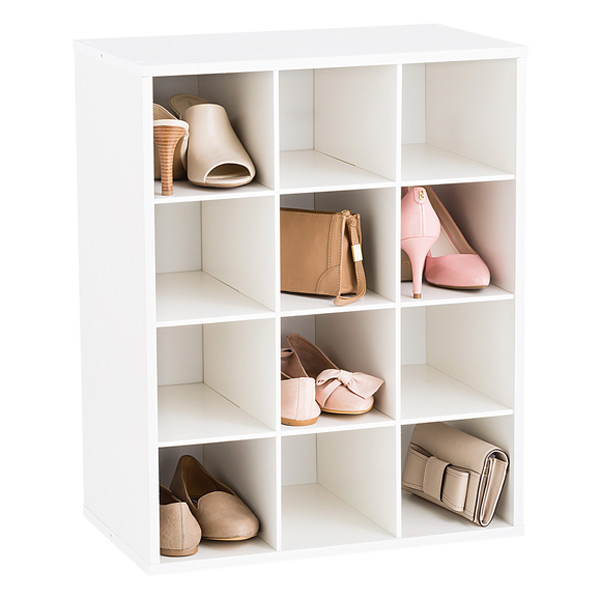 Roll over to zoom  sc 1 st  The Container Store & 12-Pair Shoe Organizer | The Container Store