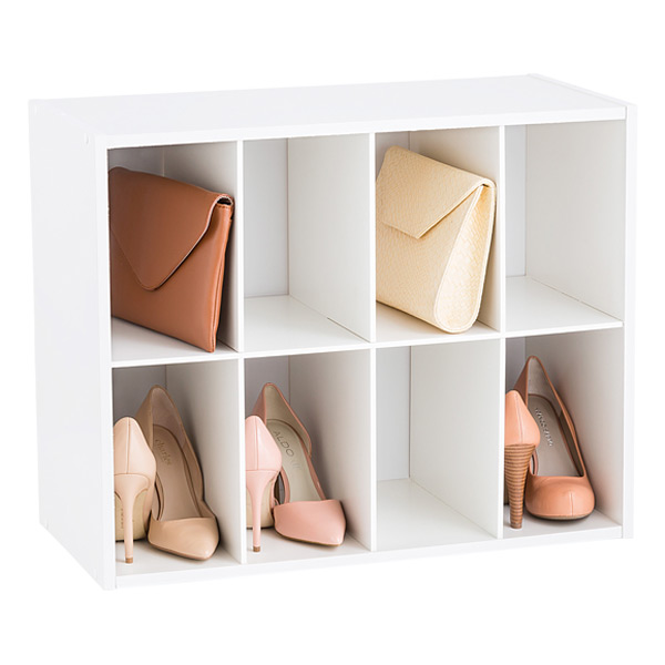 8-Pair Shoe Organizer  sc 1 st  The Container Store & 8-Pair Shoe Organizer | The Container Store
