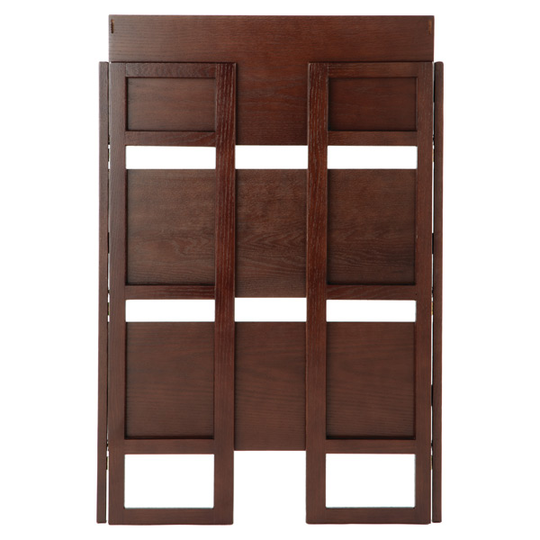 Excellent Java Solid Wood Stackable Folding Bookshelf Best Image Libraries Sapebelowcountryjoecom