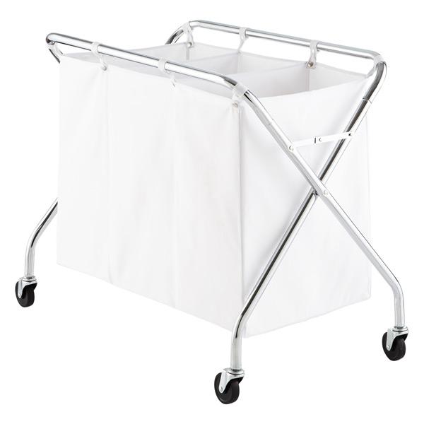 Large Laundry Sorter Beauteous Laundry Sorter HeavyDuty 60Bin Laundry Sorter With Wheels The