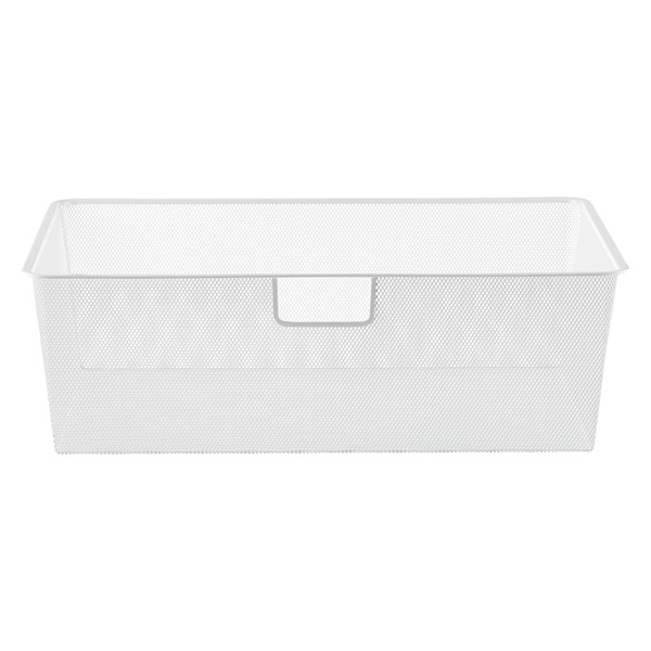White Elfa classic 2\' Mesh Hanging Drawers & Frame | The Container Store