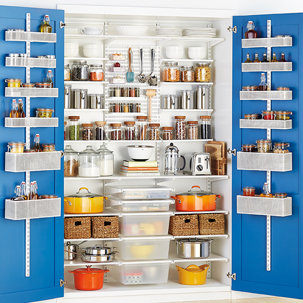 Wood Pantry Shelving Systems Best Pantry Organizers Easyclosets