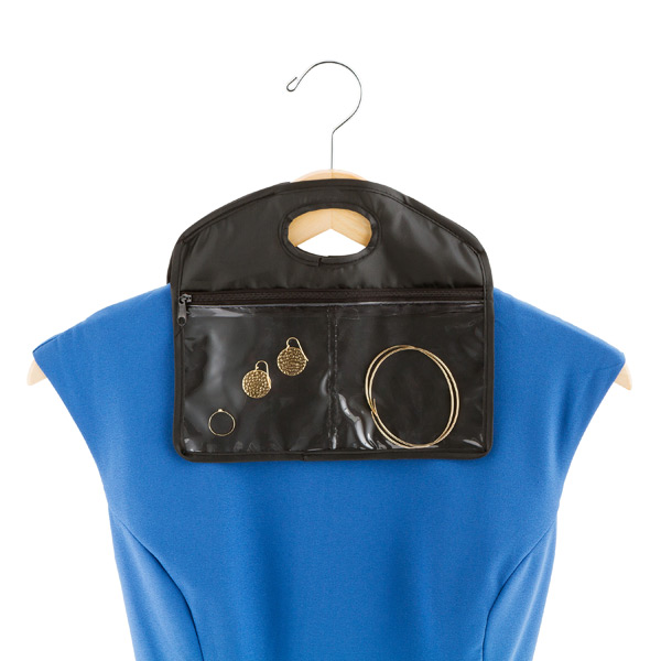 Hanger Pocket Travel Jewelry Organizer The Container Store