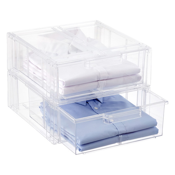 Merveilleux Clear Shirt U0026 Accessory Drawer