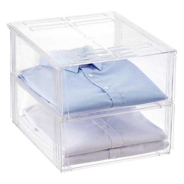 Delicieux Premium Stackable Shirt U0026 Sweater Bins