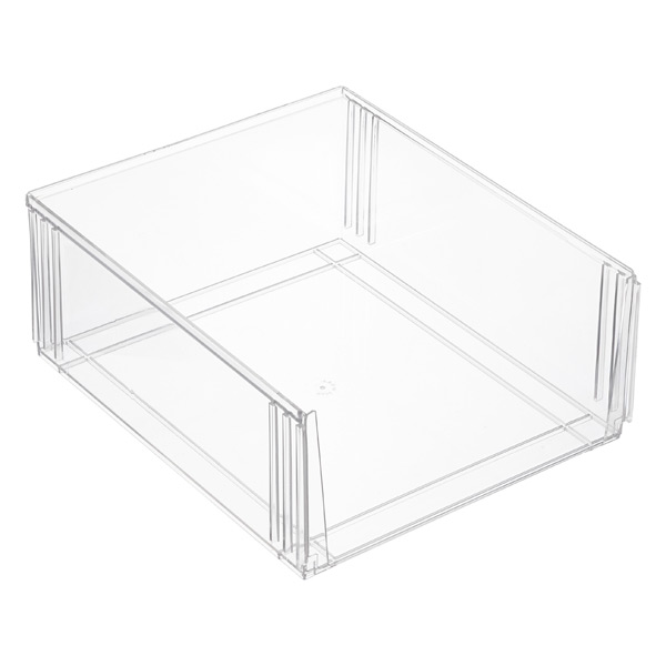 Premium Stackable Tall Shoe Bin The Container Store