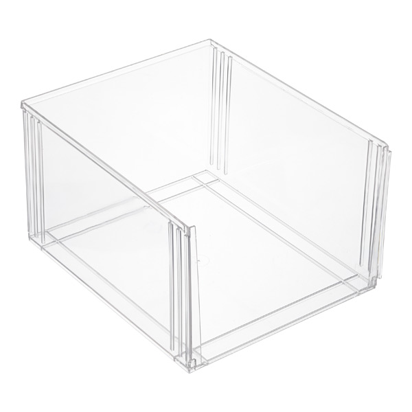 Premium Stacking Shoe Bin The Container Store
