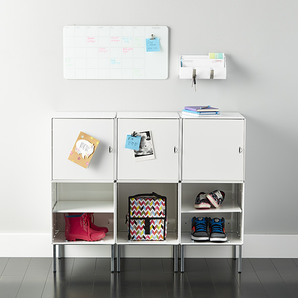 Brand new Piano White Wall-Mount Cubby Organizer by Umbra | The Container Store MC31