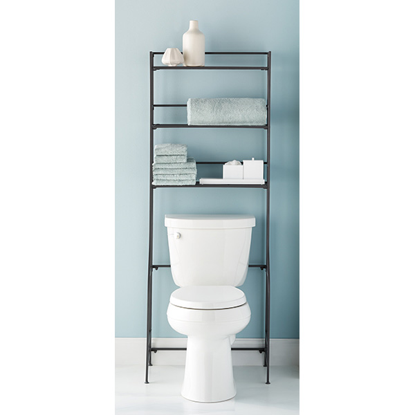 iron folding bath etagere - Bathroom Etagere