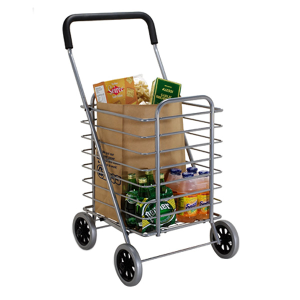 Aluminum Shopping Cart & Liner | The Container Store