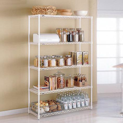 Metal Kitchen Shelves Intermetro Kitchen Shelves The Container Store