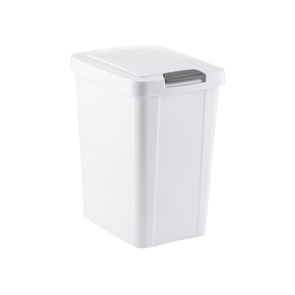 Inspirational Sterilite 13 Gallon Roll top Wastebasket