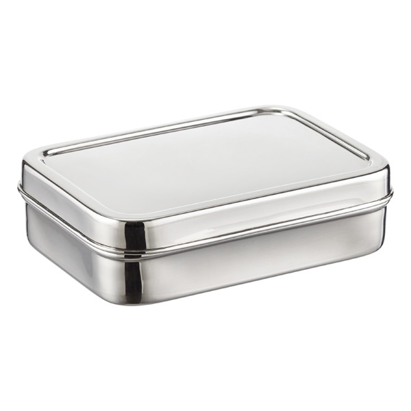Rectangular Stainless Steel ECOlunchbox The Container Store