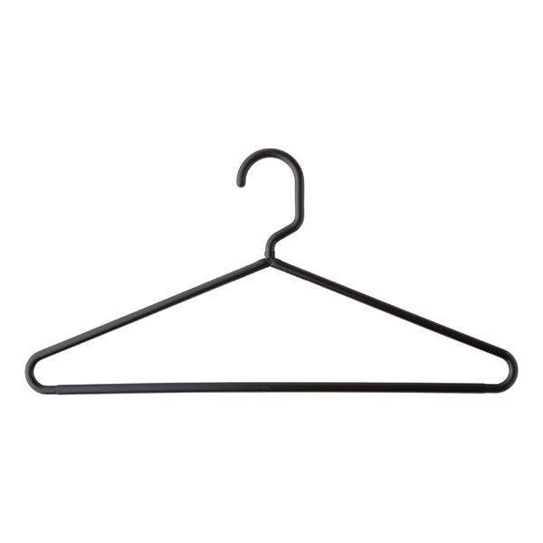 a black hanger