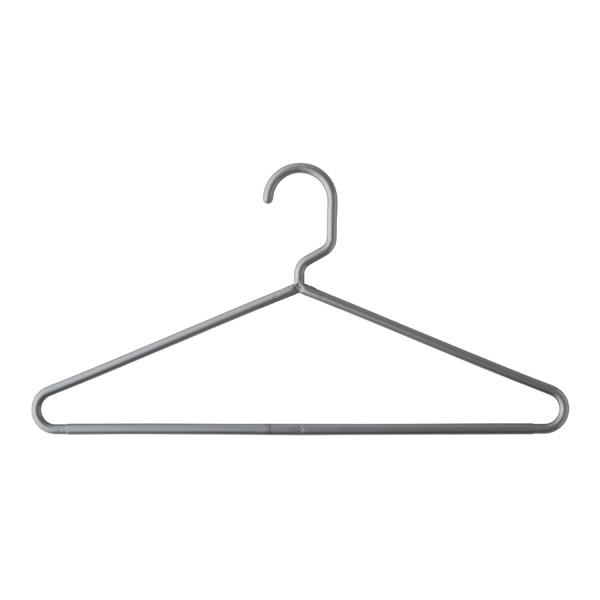 Classic Tubular Hangers White Grey Amp Black Plastic